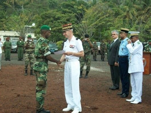 un détachement des Fazsoi aux Comores.